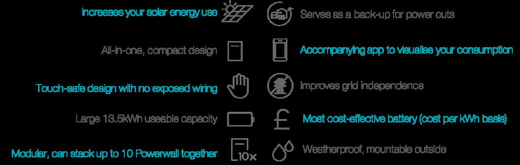 UK Tesla Powerwall engenius home battery benefits